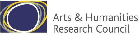 Arts and Humanities Research Council (AHRC)